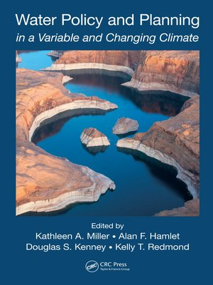 cover image of Water Policy and Planning in a Variable and Changing Climate