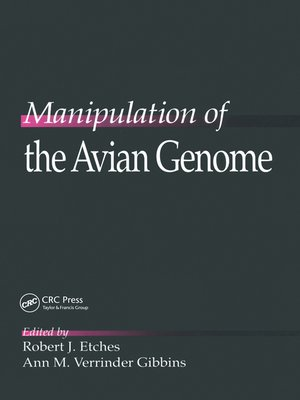 cover image of Manipulation of the Avian Genome