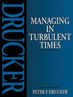 cover image of Managing in Turbulent Times