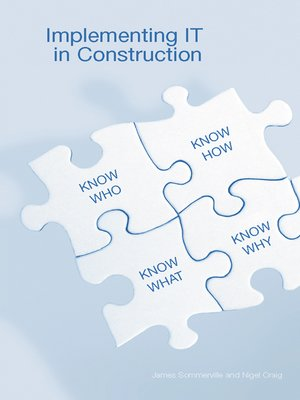 cover image of Implementing IT in Construction