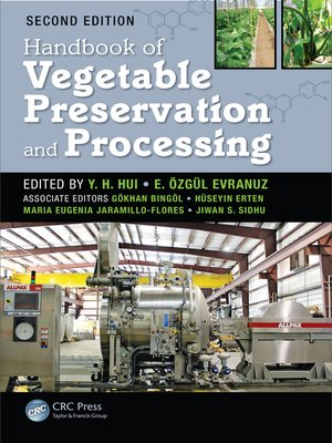 cover image of Handbook of Vegetable Preservation and Processing
