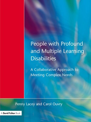 cover image of People with Profound & Multiple Learning Disabilities