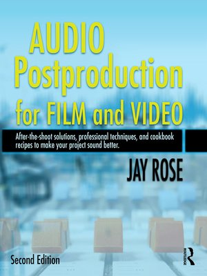 cover image of Audio Postproduction for Film and Video