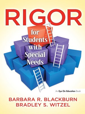 cover image of Rigor for Students with Special Needs