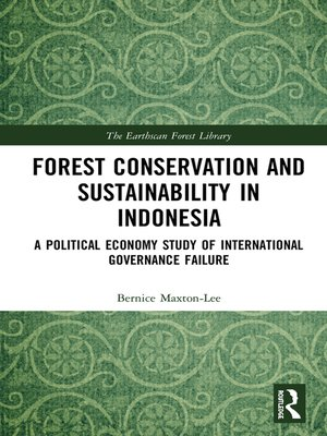cover image of Forest Conservation and Sustainability in Indonesia