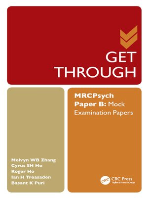 cover image of Get Through MRCPsych Paper B