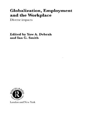 cover image of Globalization, Employment and the Workplace