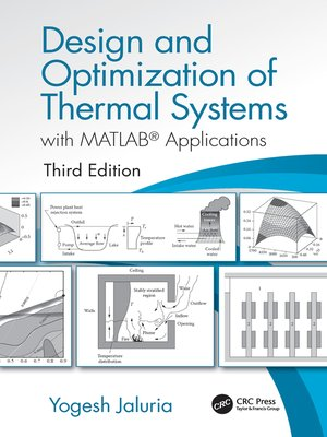 cover image of Design and Optimization of Thermal Systems