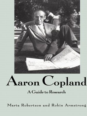 cover image of Aaron Copland