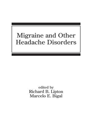 cover image of Migraine and Other Headache Disorders
