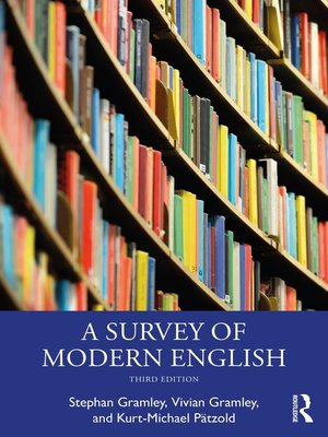 cover image of A Survey of Modern English