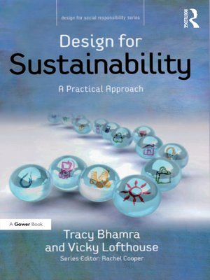 cover image of Design for Sustainability