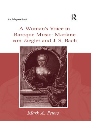 cover image of A Woman's Voice in Baroque Music