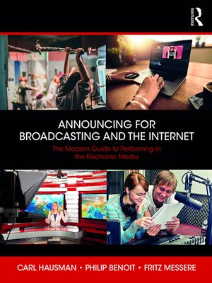 cover image of Announcing for Broadcasting and the Internet