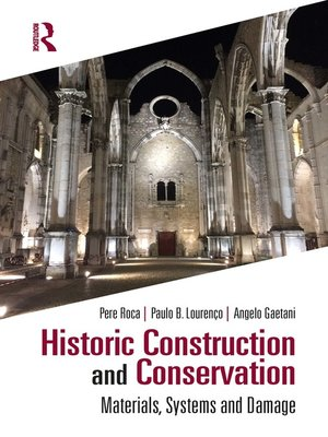 cover image of Historic Construction and Conservation