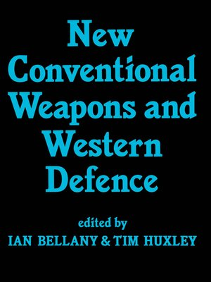 cover image of New Conventional Weapons and Western Defence
