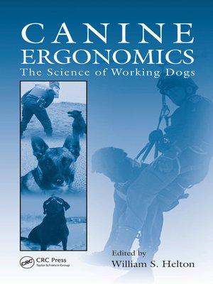 cover image of Canine Ergonomics