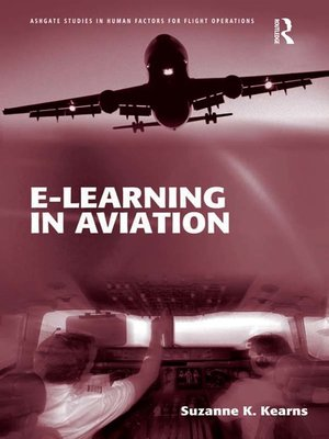 cover image of e-Learning in Aviation