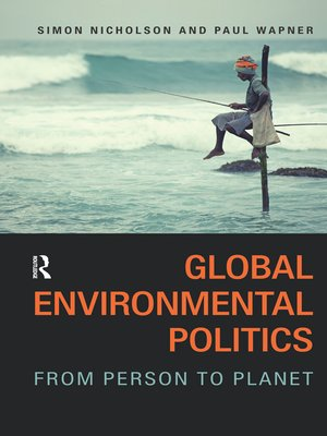 cover image of Global Environmental Politics