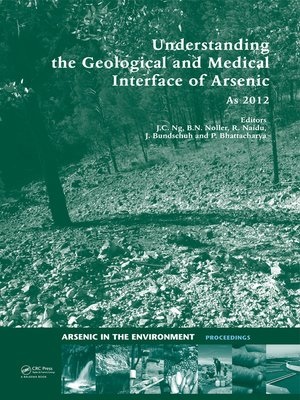 cover image of Understanding the Geological and Medical Interface of Arsenic--As 2012
