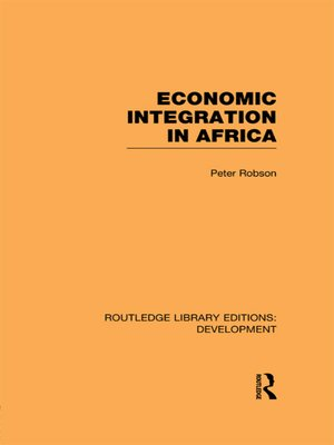 cover image of Economic Integration in Africa