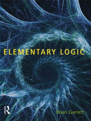 cover image of Elementary Logic