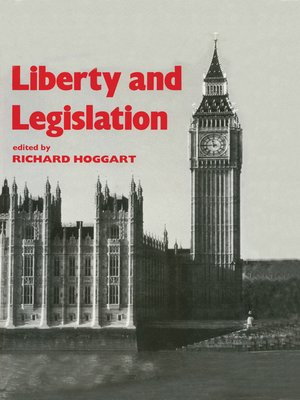 cover image of Liberty and Legislation