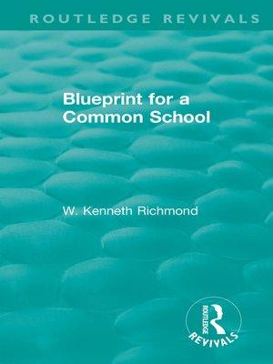 cover image of Blueprint for a Common School