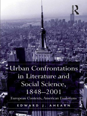 cover image of Urban Confrontations in Literature and Social Science, 1848-2001