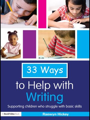 cover image of 33 Ways to Help with Writing