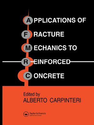 cover image of Applications of Fracture Mechanics to Reinforced Concrete