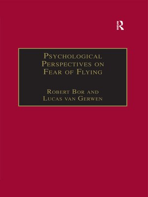 cover image of Psychological Perspectives on Fear of Flying