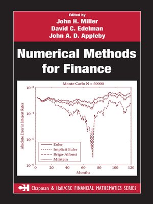 cover image of Numerical Methods for Finance