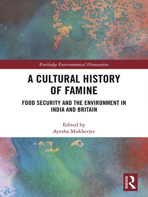 cover image of A Cultural History of Famine