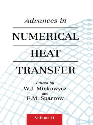 cover image of Advances in Numerical Heat Transfer, Volume 2