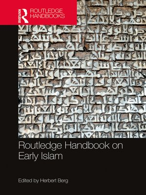 cover image of Routledge Handbook on Early Islam