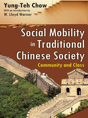 cover image of Social Mobility in Traditional Chinese Society