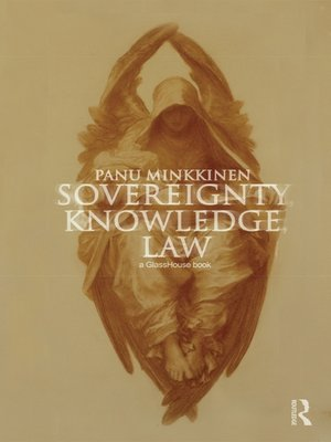 cover image of Sovereignty, Knowledge, Law