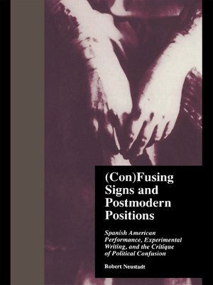 cover image of (Con)Fusing Signs and Postmodern Positions