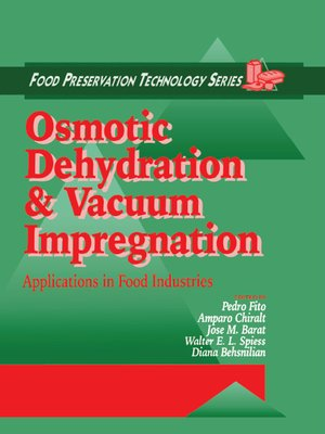 cover image of Osmotic Dehydration and Vacuum Impregnation