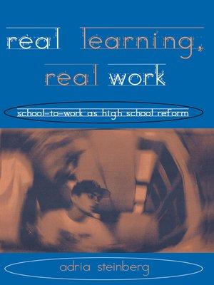 cover image of Real Learning, Real Work