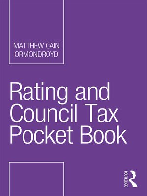 cover image of Rating and Council Tax Pocket Book