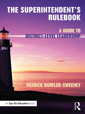 cover image of The Superintendent's Rulebook