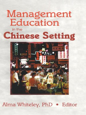 cover image of Management Education in the Chinese Setting