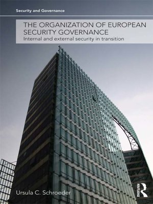 cover image of The Organization of European Security Governance