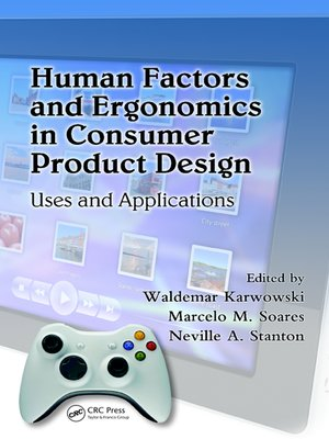cover image of Human Factors and Ergonomics in Consumer Product Design