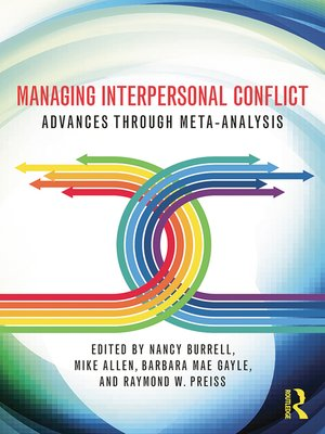 cover image of Managing Interpersonal Conflict