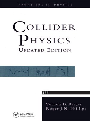 cover image of Collider Physics