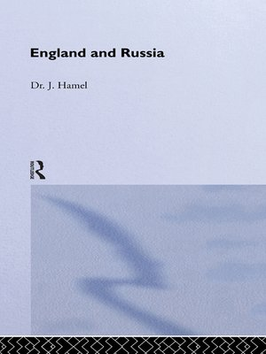 cover image of England and Russia
