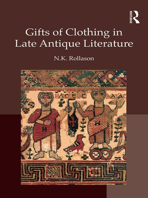 cover image of Gifts of Clothing in Late Antique Literature
